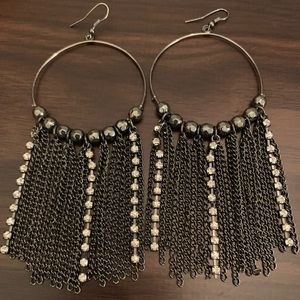 Party Glam Dangle Earrings